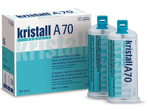 kristall PERFECT A70 / A50 Bissregistriermaterial ab