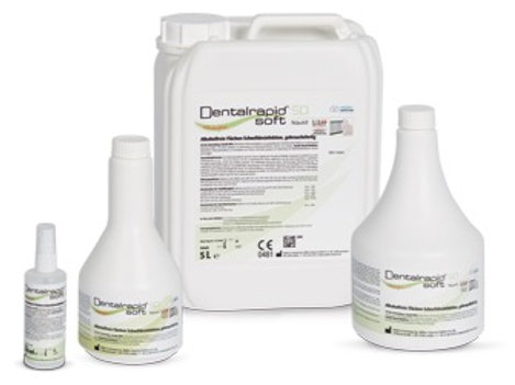 Dentalrapid® soft SD liquid – alkoholfreie Flächendesinfektion ab