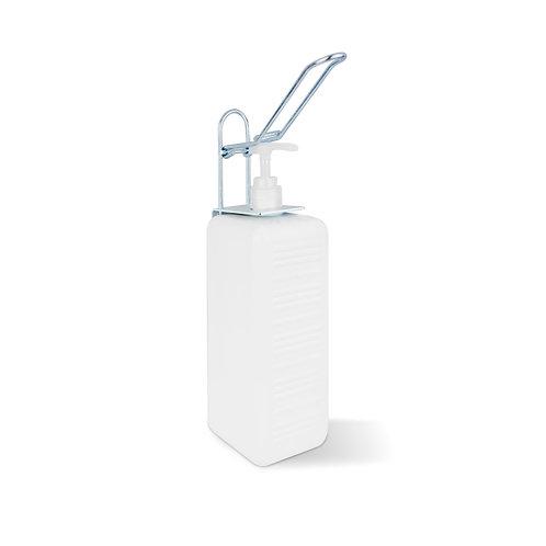 Spender Flasche 1000 ml / Wandhalterung mit Schrauben