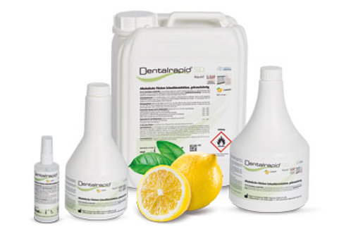 Dentalrapid® SD liquid (Lemon) Flächendesinfektion ab