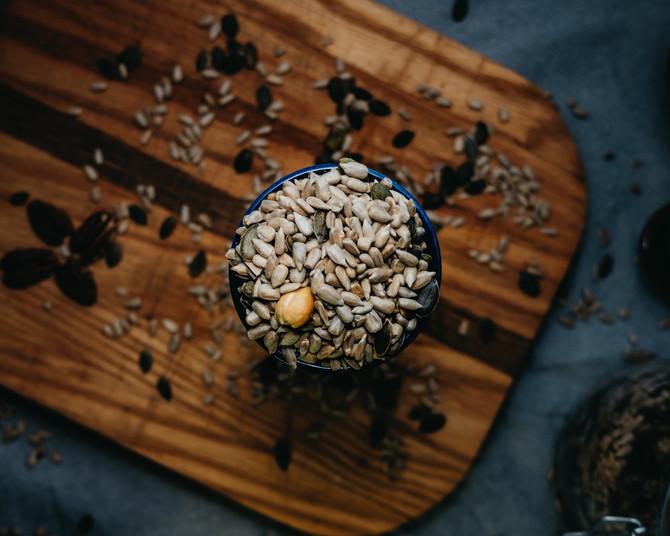 recept: kaascrackers met zaadjes