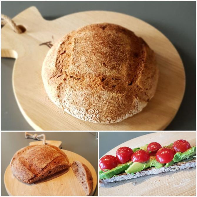 Recept: zuurdesembrood - stap 1 - starter maken