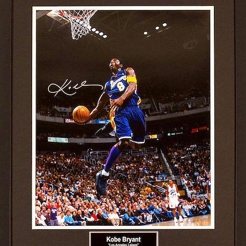 Kobe Bryant Autograph Picture
