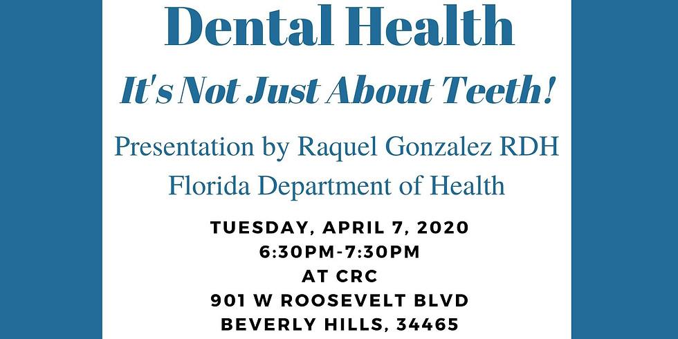Dental Health Central Ridge Family Night