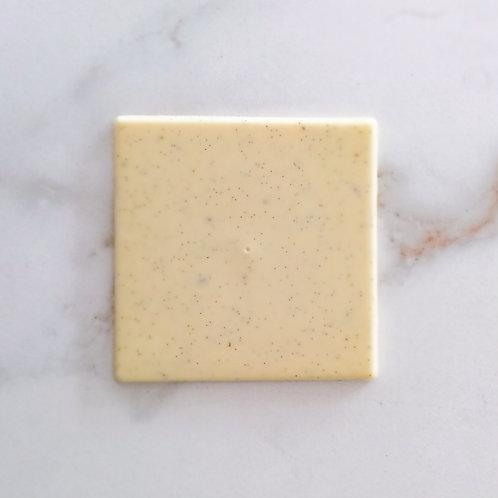 Tableta chocolate blanco y vainilla