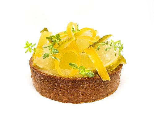 Tartaleta limón. Caja 4 uds.