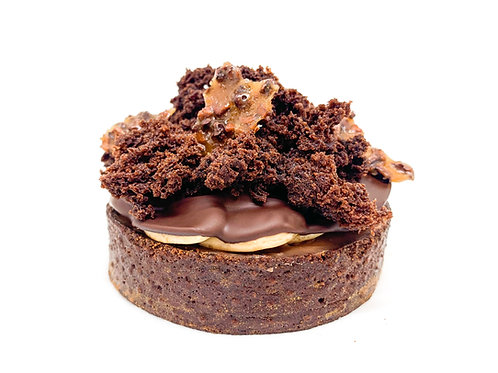 Tartaleta chocolate. Caja 4 uds.
