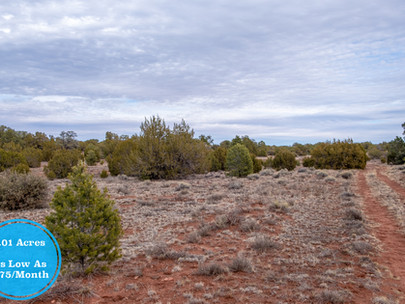 SOLD! - Beautiful 1.007 Acre Lot near Flagstaff - Lot #005