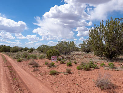 SOLD! - Quick Highway Access, Private 1.2 Acres with Mountain Views near Flagstaff & Grand Canyo