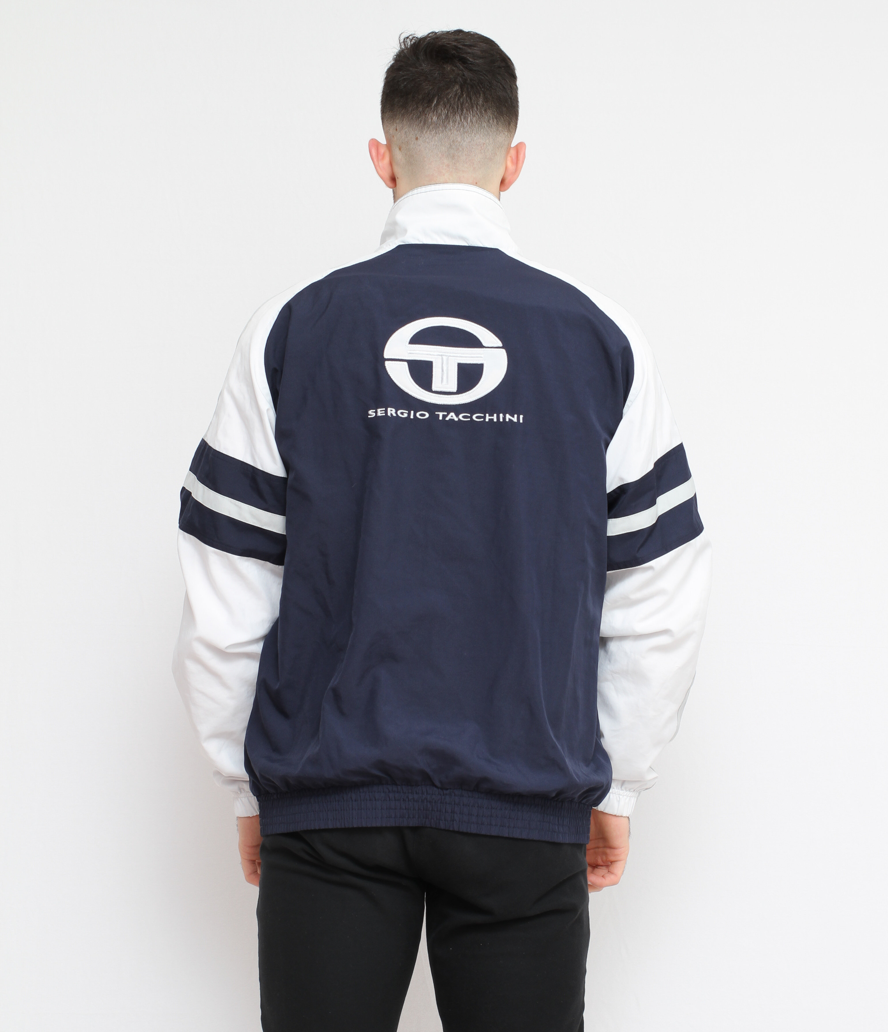 newest collection purchase cheap latest discount Veste Sergio Tacchini Bleu Marine