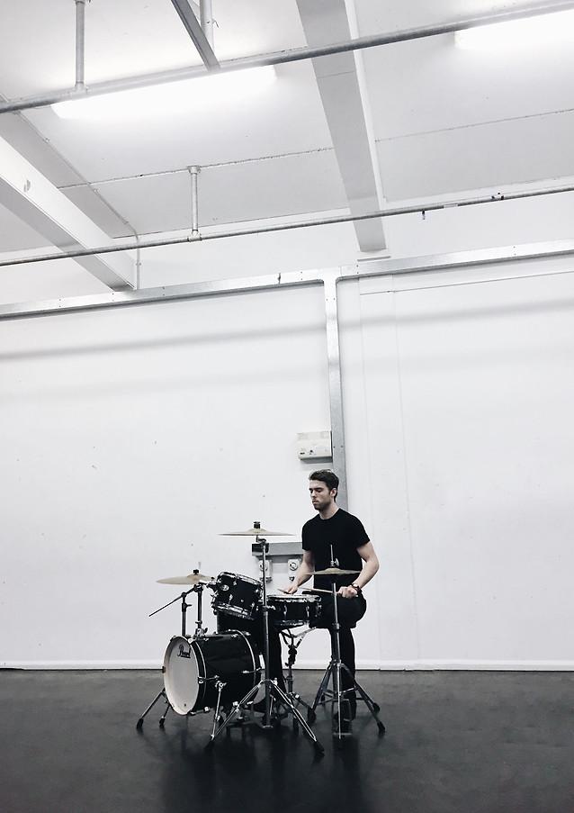 Drumming for 'The Garden'