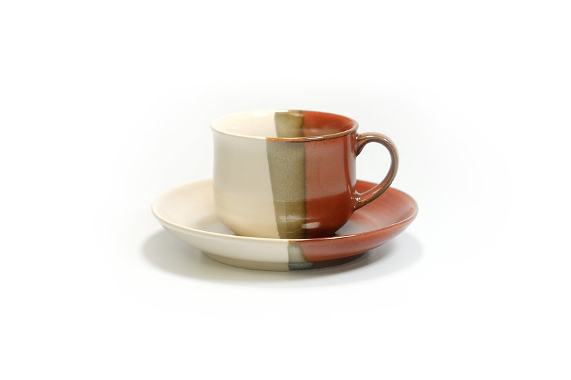Mino | Gemstone Cup and Saucer