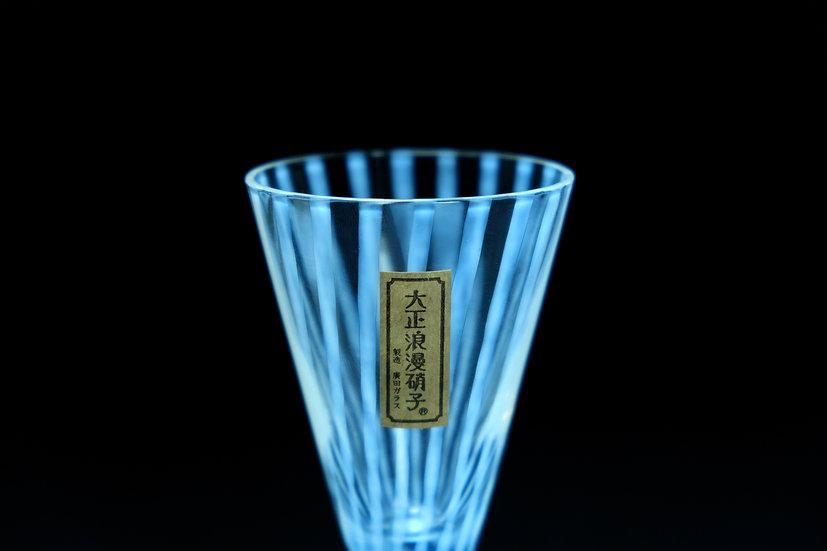 Taisho Roman Sake Glass Tokusa