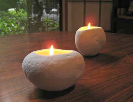 Sasso Candle Geranium S