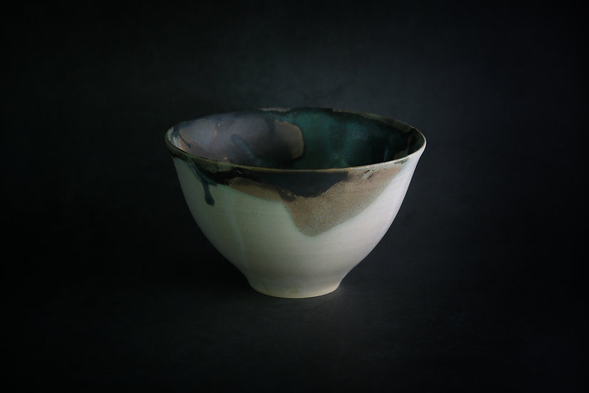 Large Bowl in Muted Glaze