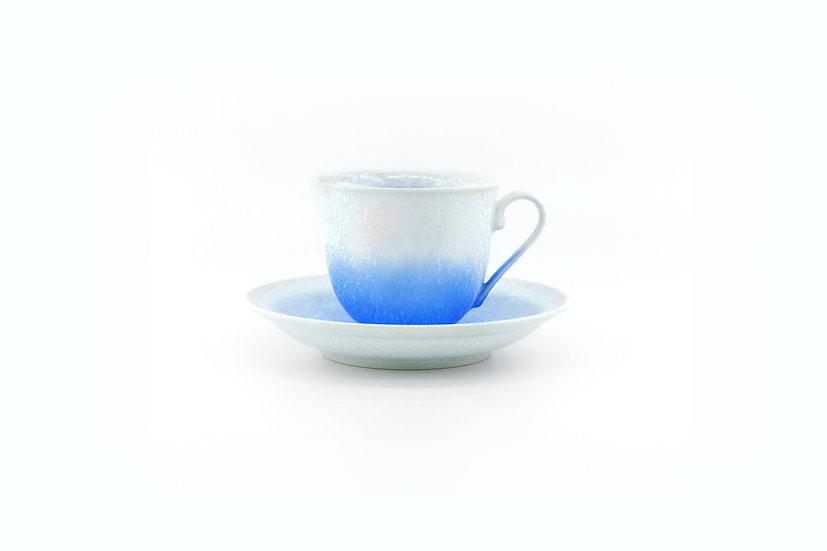 Arita | Crystal Blue Cup & Saucer