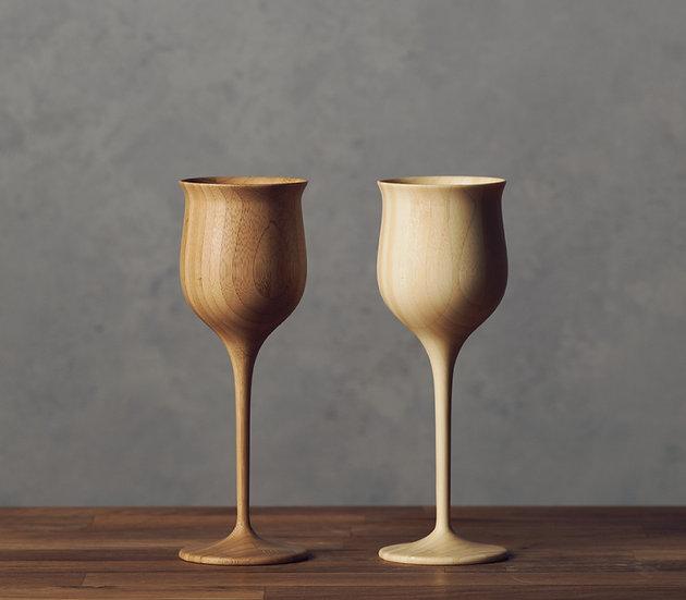 Bamboo Wine Vessel - Pair Set
