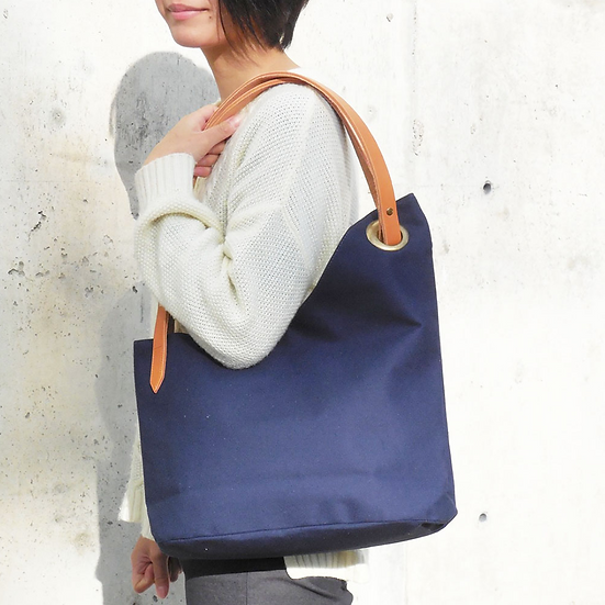 Handmade Canvas Shoulder Bag