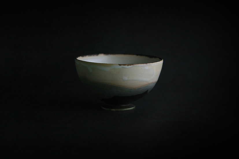 Bowl in Muted Glaze - A