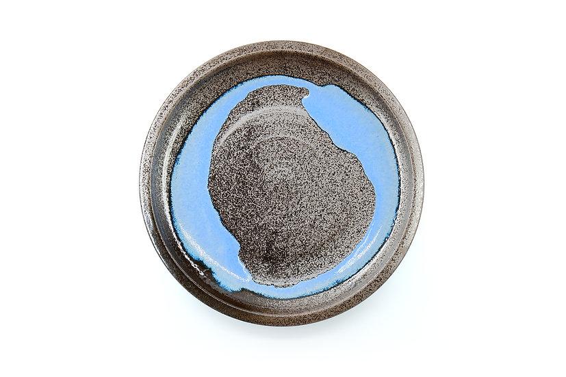 Mino | Water Blue Glazed Plate