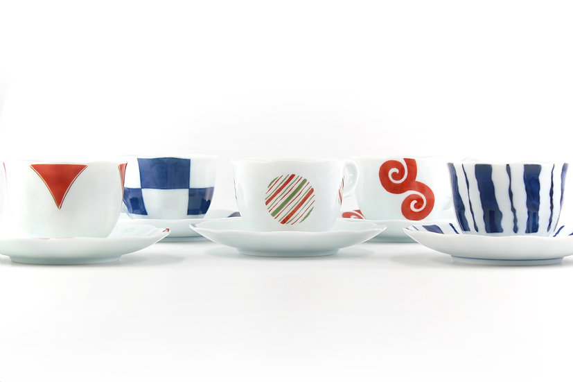 Retro Traditional Japanese Pattern Set (5pcs)