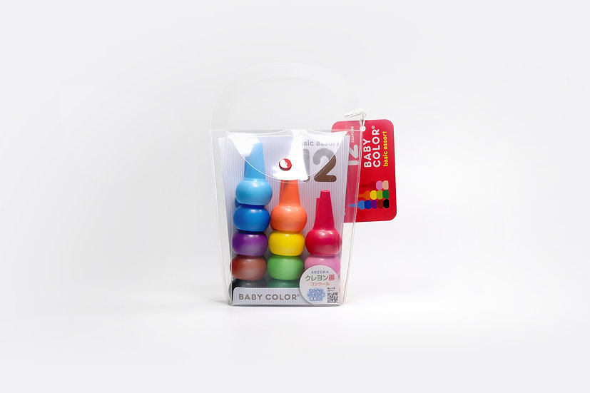 Stackable Baby Crayon - Basic