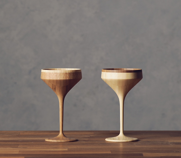 Bamboo Martini - Pair Set