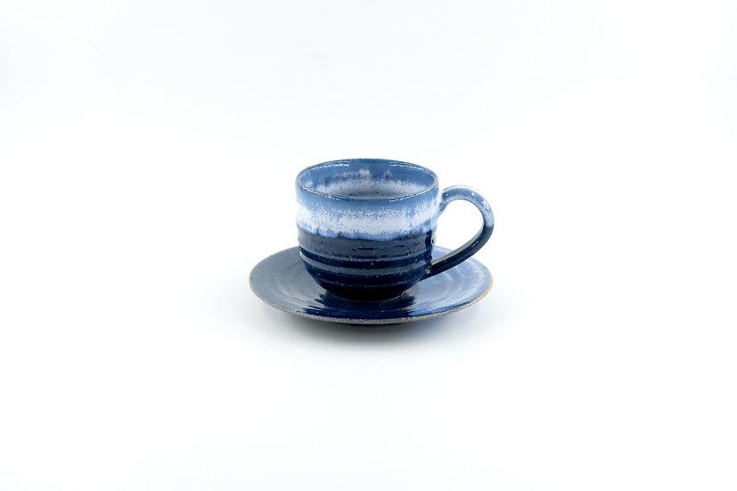Shigaraki | Ruri Cup & Saucer