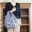 Thumbnail: Handmade Linen 2-Way Square Bag