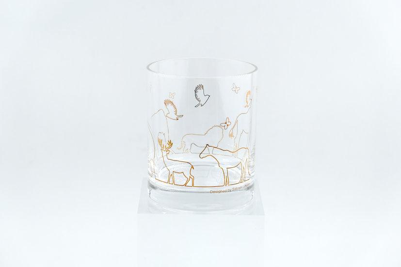 Satoshi Umeno Wild Animal Glass Pair Set