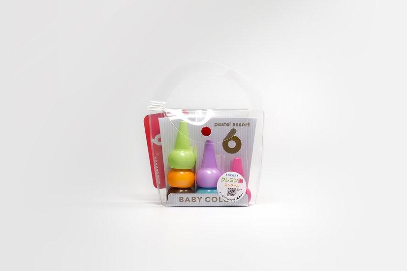 Stackable Baby Crayon - Pastel