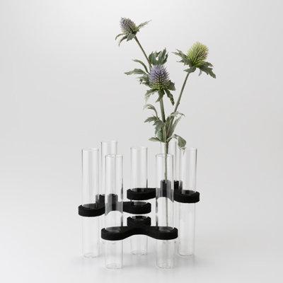 Petal 7-Tube Vases