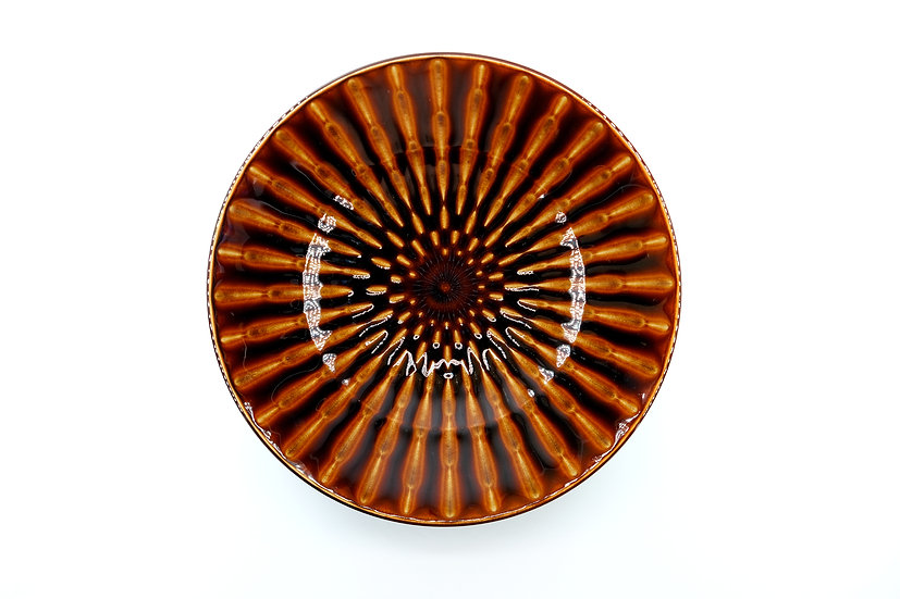 Mino | Bamboo Plate Red