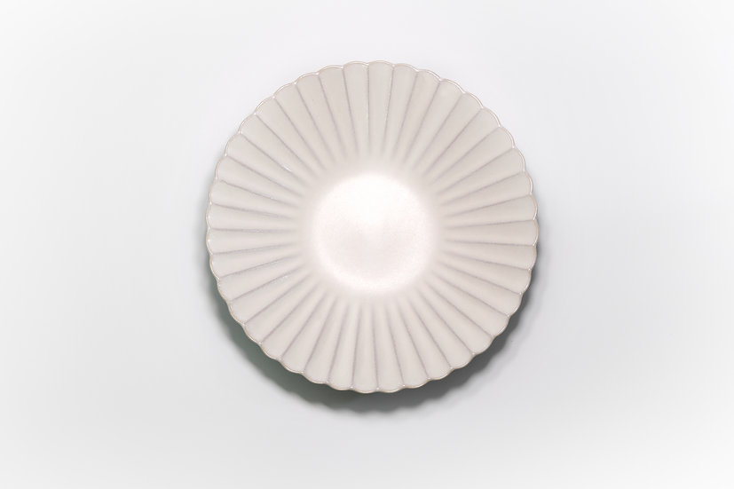 Seto | White Floral Large Plate