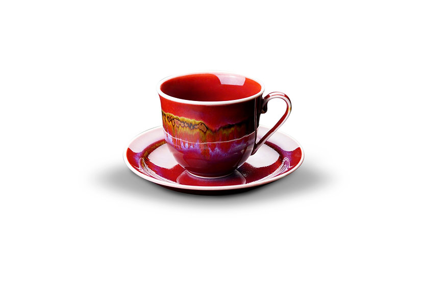 Arita | Earth Valley Cup & Saucer