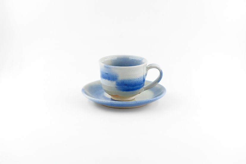 Shigaraki | Sky Blue Cup & Saucer