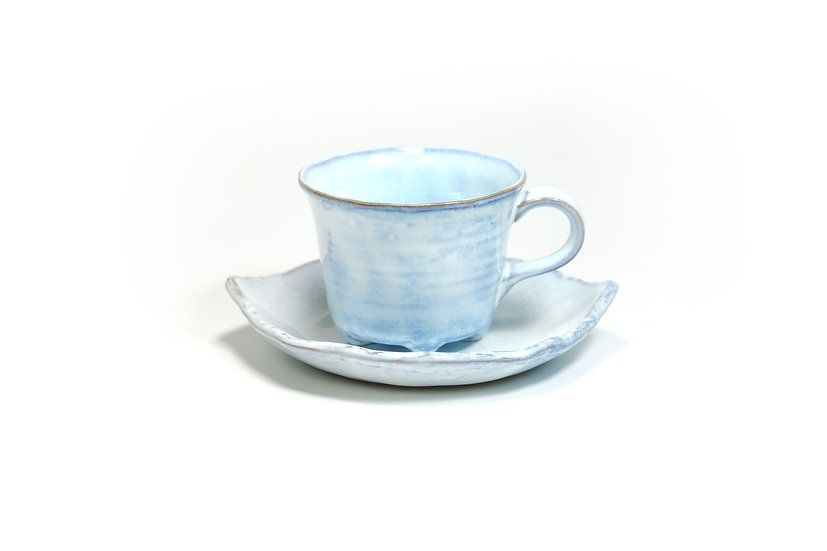 Mino | Sky Blue Cup and Saucer
