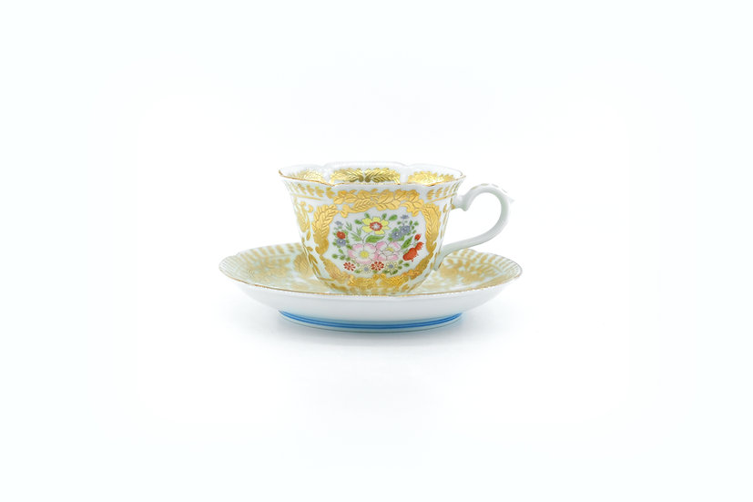 Arita | Versailles White Cup & Saucer