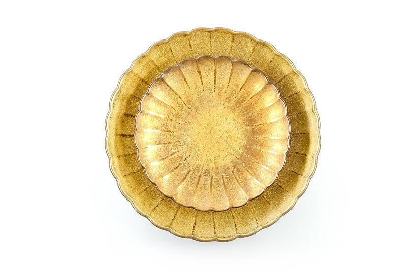 Arita | Flower Daisy Plate (Golden)