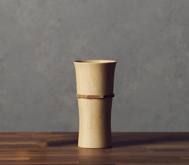 Bamboo Tumbler  L - Natural White