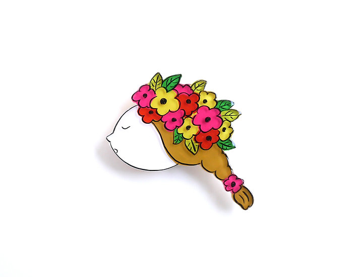 Floral Girl | Brooch