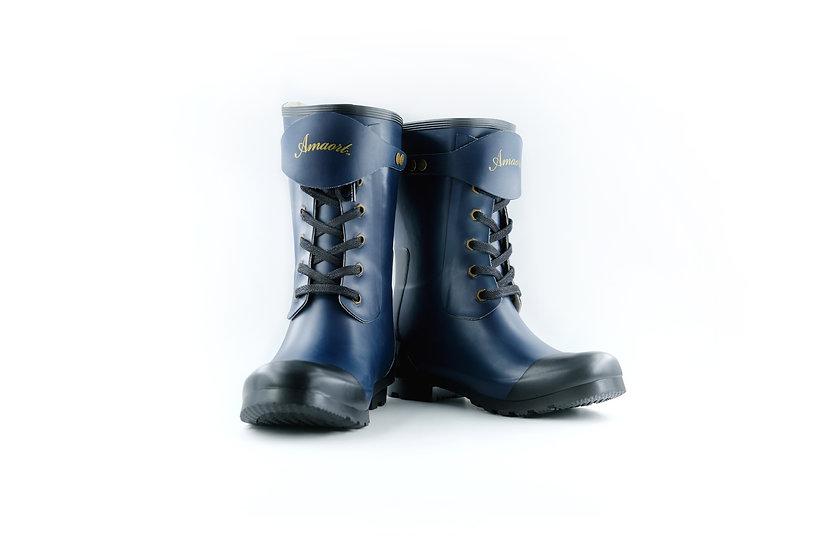 Amaort Men's Classic Wellington Rain Boots