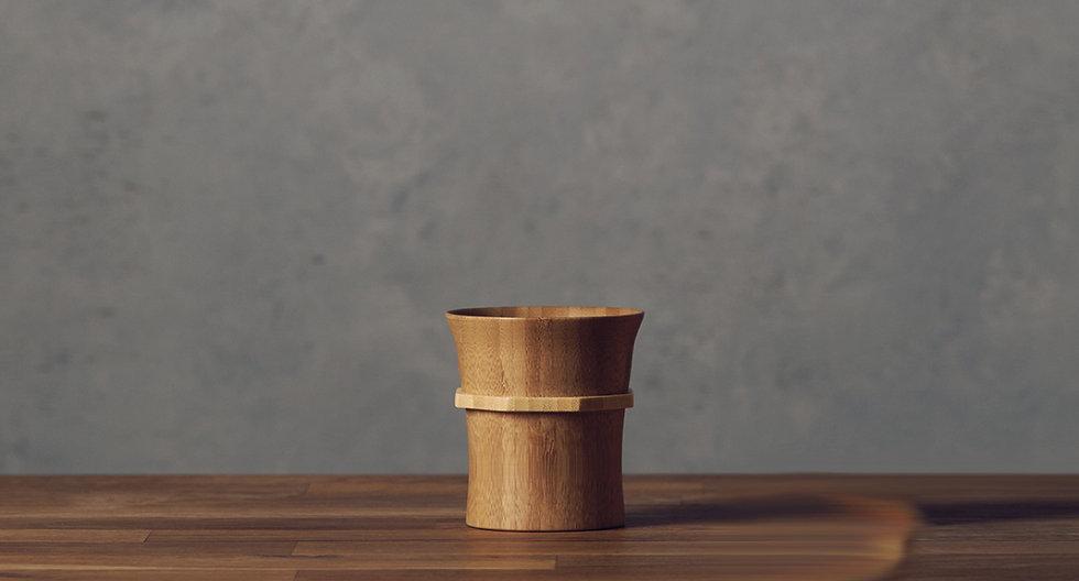 Bamboo Tumbler S - Smoky Brown