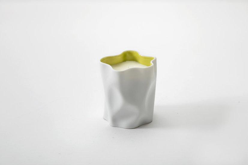 六境香蠟・柚子 - CRINKLE CANDLE Yuzu