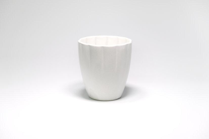 Seto | White Floral Cup
