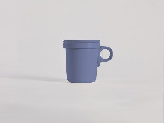 Enamel Hook Mug Blue