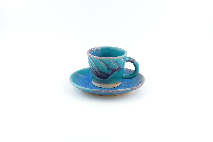 Shigaraki | Rokusa Cup & Saucer
