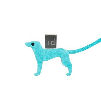 Animal Bookmark Dog