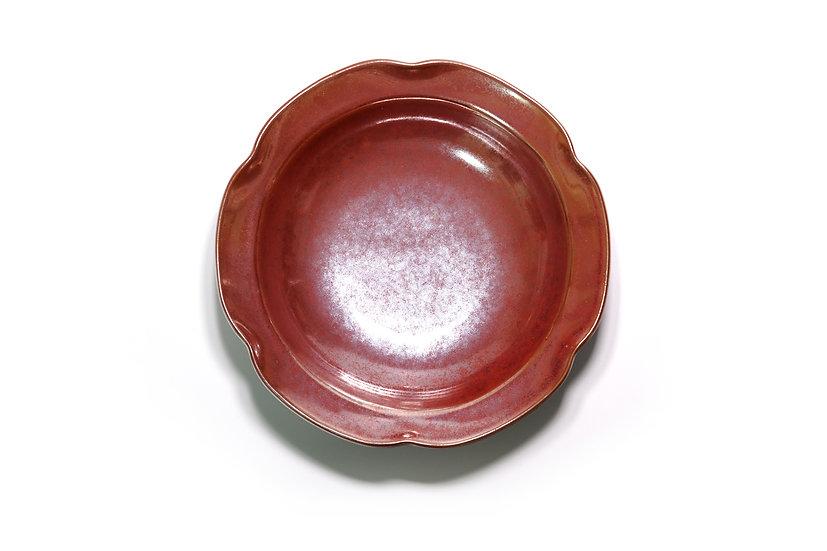 Mino   Crimson Red Plate