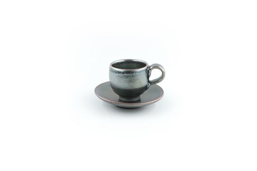 Shigaraki | Espresso Cup & Saucer